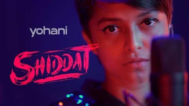 Shiddat Title Track Lyrics - Yohani