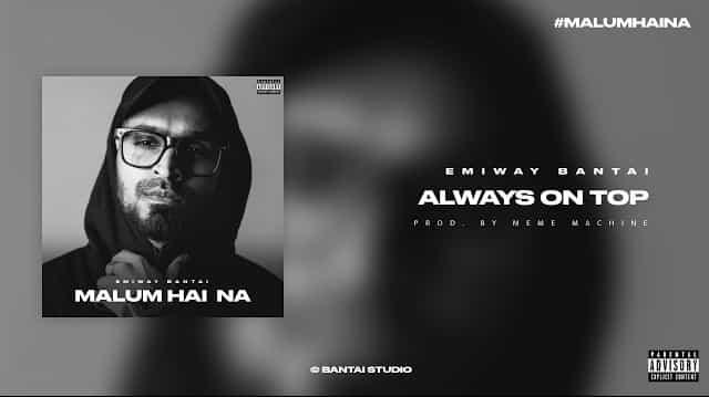 Always On Top Lyrics - Emiway